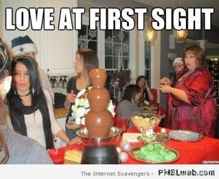 Love at first sight meme – Hilarious Friday at PMSLweb.com