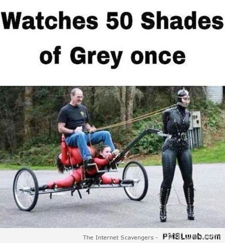 Funny watches 50 shades of Grey once at PMSLweb.com