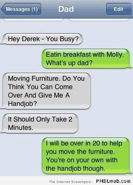 Give me a handjob autocorrect fail – Hilarious iPhone moments at PMSLweb.com