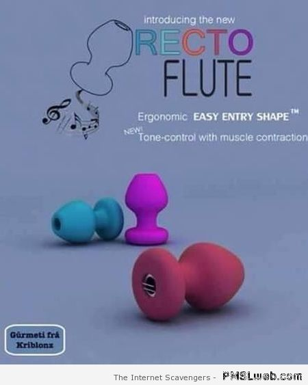 Recto flute – Wednesday ROFL at PMSLweb.com
