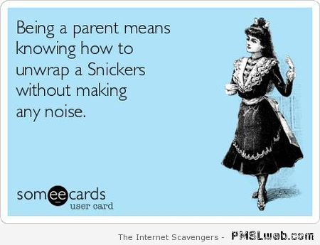 Being a parent ecard at PMSLweb.com