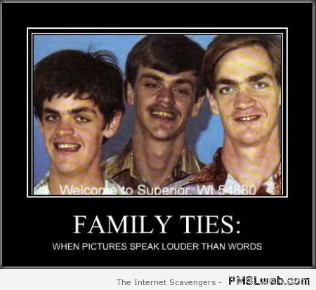 Family ties demotivational at PMSLweb.com