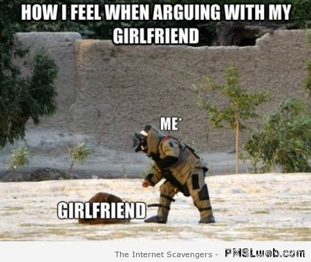 How I feel when arguing with my girlfriend meme – Wednesday ROFL at PMSLweb.com