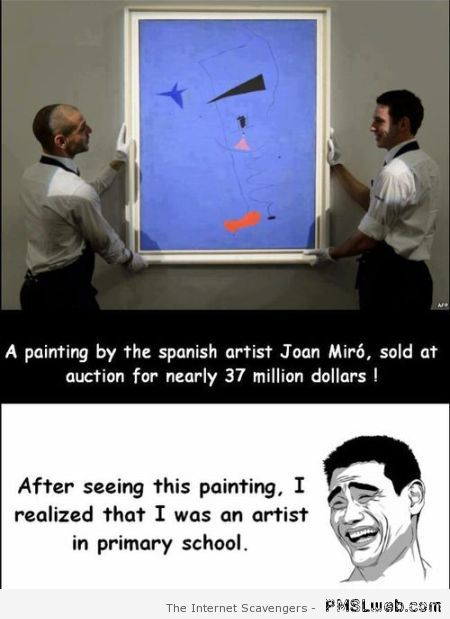 Funny price of painting meme at PMSLweb.com