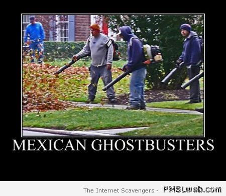 Mexican ghostbusters demotivational at PMSLweb.com