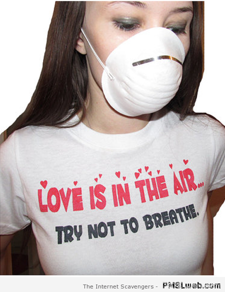 Love is in the air anti Valentine's at PMSLweb.com
