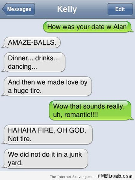 Funny dating text messages