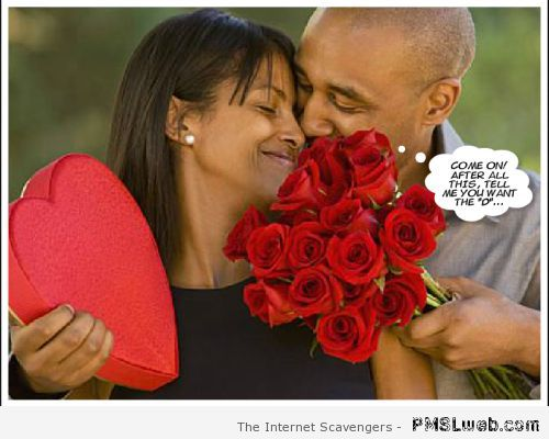 Valentine's day she wants the D – Funny Valentine's day pictures at PMSLweb.com
