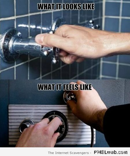 Funny shower meme at PMSLweb.com