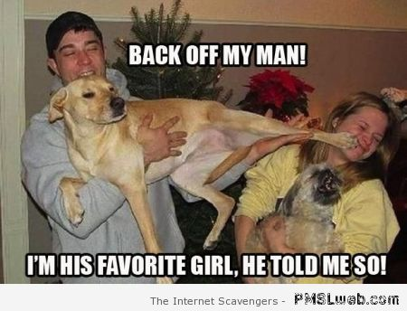 Back off my man dog meme at PMSLweb.com