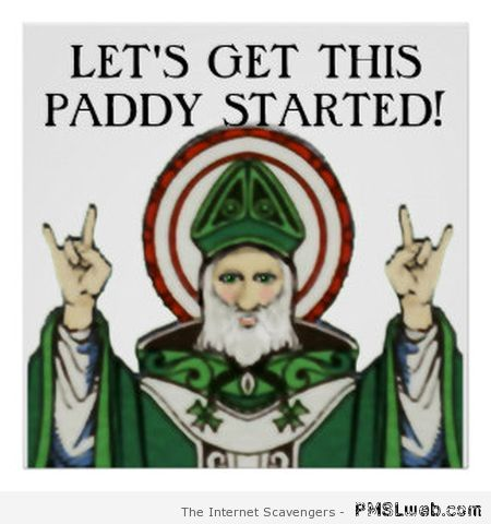 Let's get this Paddy started at PMSLweb.com
