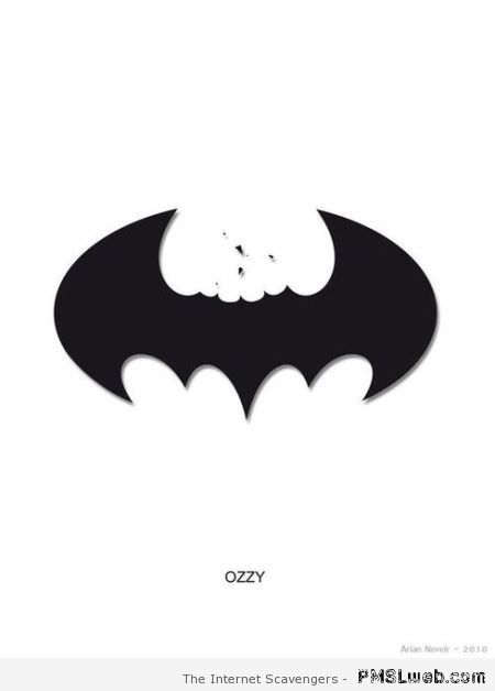 Funny Ozzy bites off Batman's head at PMSLweb.com