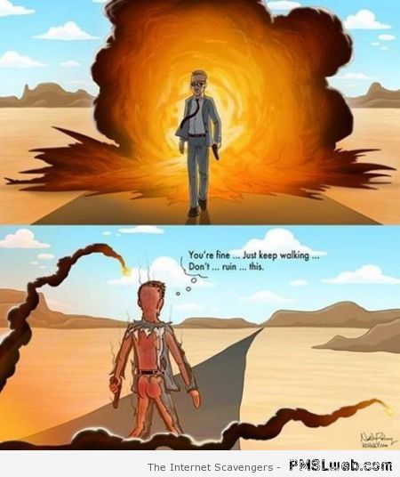 Funny explosion in movies truth – Funny Thursday pictures at PMSLweb.com