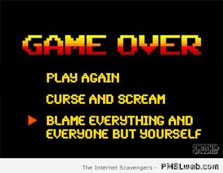 Funny game over truth at PMSLweb.com