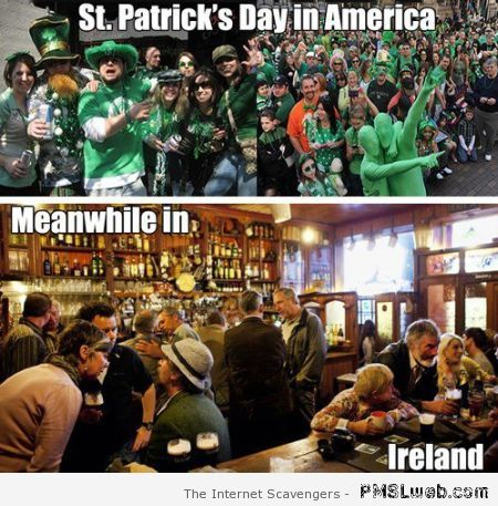 Meanwhile in Ireland vs America at PMSLweb.com