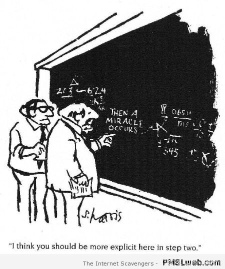 Funny maths cartoon – Saturday PMSL at PMSLweb.com