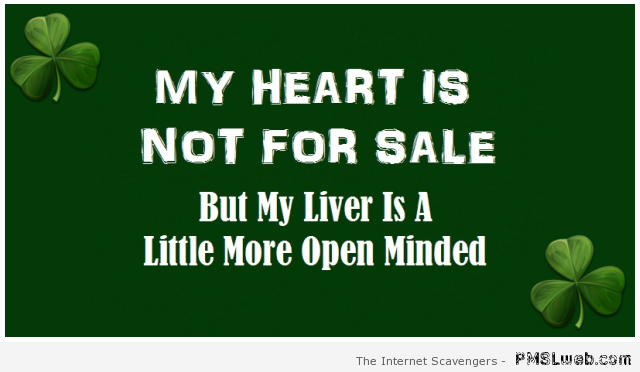 Funny my heart is not for sale at PMSLweb.com