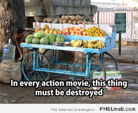 In every action movie funny meme at PMSLweb.com