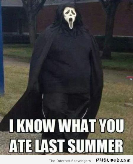 I know what you ate last summer meme at PMSLweb.com