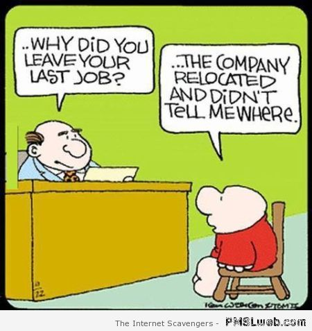 Company relocation funny cartoon at PMSLweb.com