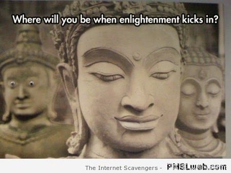 Where will you be when enlightenment kicks-in at PMSLweb.com