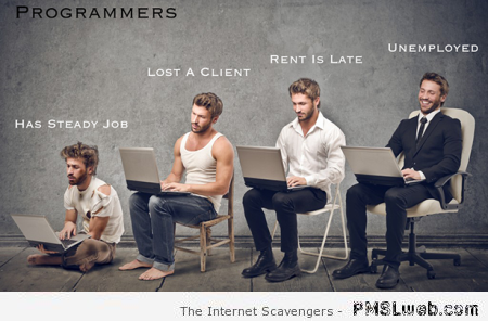 Funny programmers at PMSLweb.com