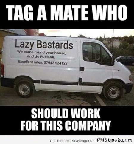 Tag a mate who should work for this company – Monday madness at PMSLweb.com