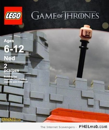Game of Thrones lego humor at PMSLweb.com