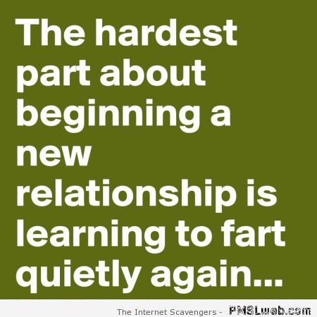 Learning to fart quietly again funny quote – Hump day playtime at PMSLweb.com