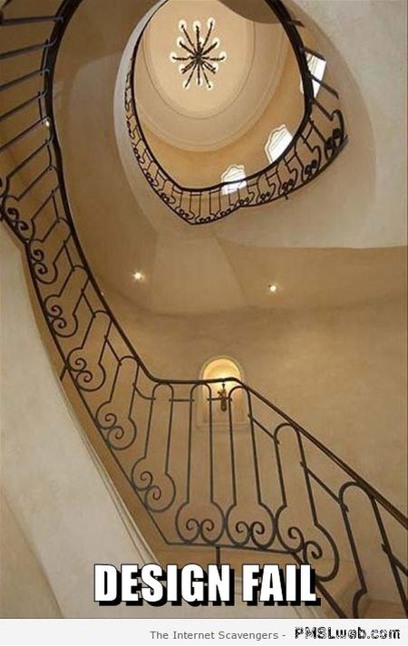 Stair design fail at PMSLweb.com