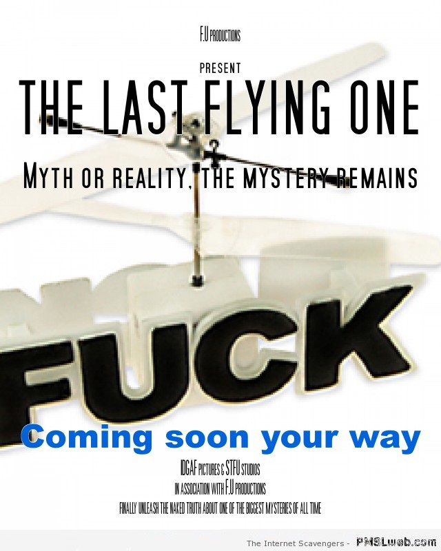 The last flying f*ck movie at PMSLweb.com