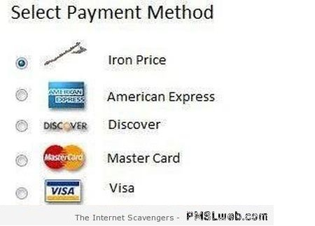 Funny game of thrones payment method at PMSLweb.com