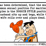 Married couples favorite sexual position joke – Funny Friday collection at PMSLweb.com