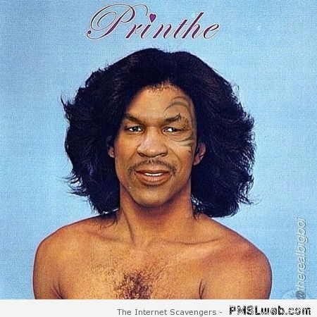 Mike Tyson plus Prince equals Printhe at PMSLweb.com