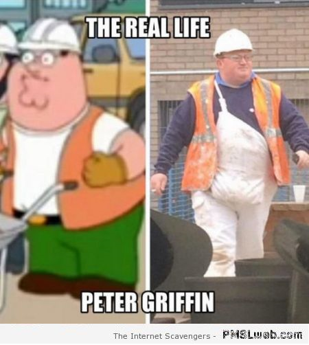Funny real life Peter Griffin at PMSLweb.com