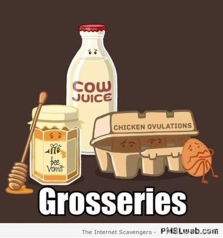 Funny groceries reality at PMSLweb.com