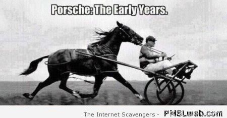 Porsche the early years meme – Hilarious Tuesday at PMSLweb.com