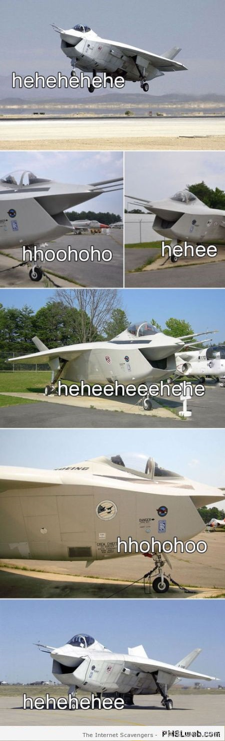 Funny cheerful planes at PMSLweb.com