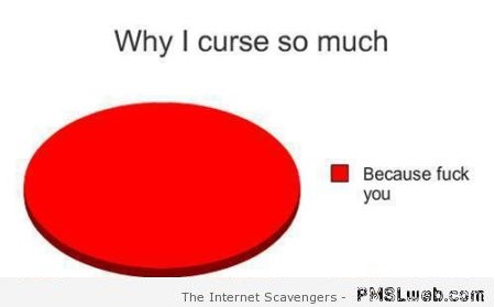 Why I curse so much funny graph – PMSL pics at PMSLweb.com
