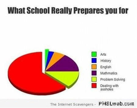 What school really prepares you for funny graph at PMSLweb.com