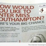 How would you like to enter Miss Southampton fail at PMSMweb.com