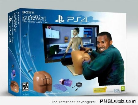 Funny Kanye West the worst game ever – Hump day funniness at PMSLweb.com