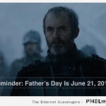 Funny game of Thrones father's day at PMSLweb.com