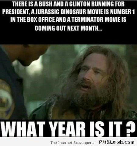What year is it funny meme at PMSLweb.com