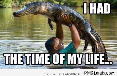 I had the time of my life meme – Thursday guffaws at PMSLweb.com