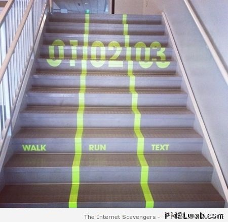 Funny modern stairs – Humorous pictures at PMSLweb.com