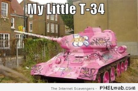 My little tank – Funny Russia at PMSLweb.com