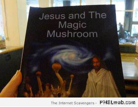 Jesus and the magic mushroom at PMSLweb.com
