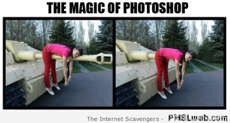 The magic of Photoshop humor – Weekend guffaws at PMSLweb.com
