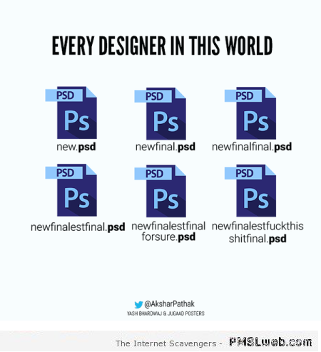 When a designer names his files humor at PMSLweb.com